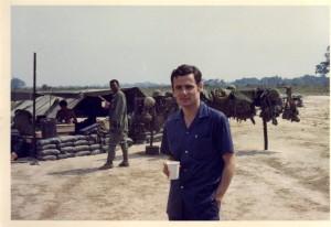 "me ""working"" near saigon April 1969."